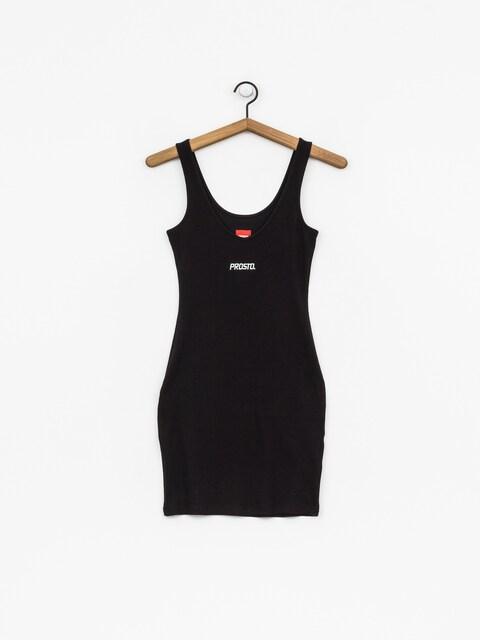 Prosto Dress Midi Stria Wmn (queen black)