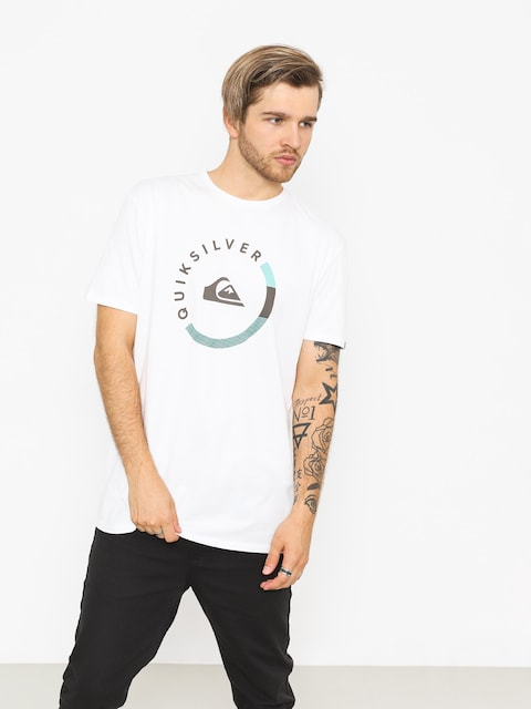 Quiksilver T-shirt Slab Session (white)