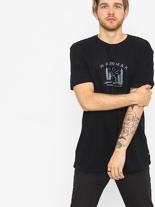 Quiksilver T-shirt Back To Nature (black)