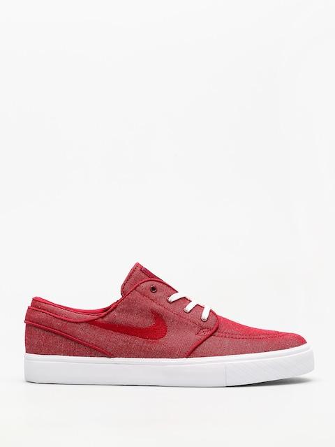 Nike SB Schuhe Zoom Sb Stefan Janoski Canvas (red crush/red crush white)