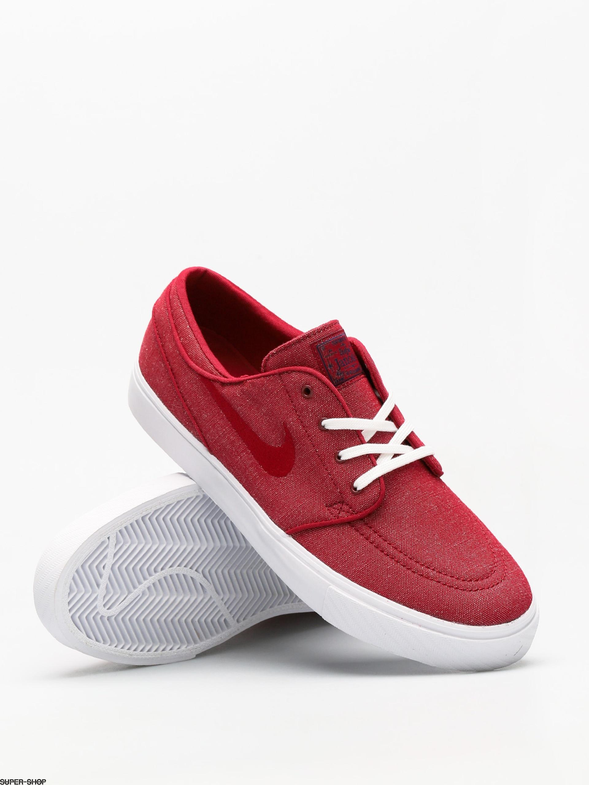 Nike SB Shoes Zoom Sb Stefan Janoski Canvas (red crush red crush white) 65f67d51c3