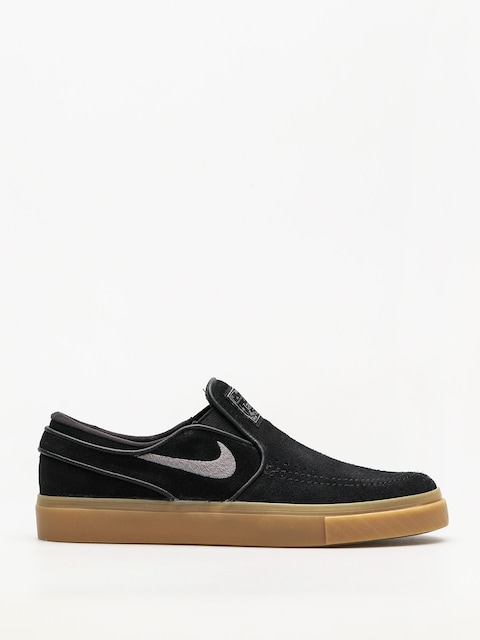 Nike SB Shoes Air Zoom Stefan Janoski Slip (black/gunsmoke gum light brown)