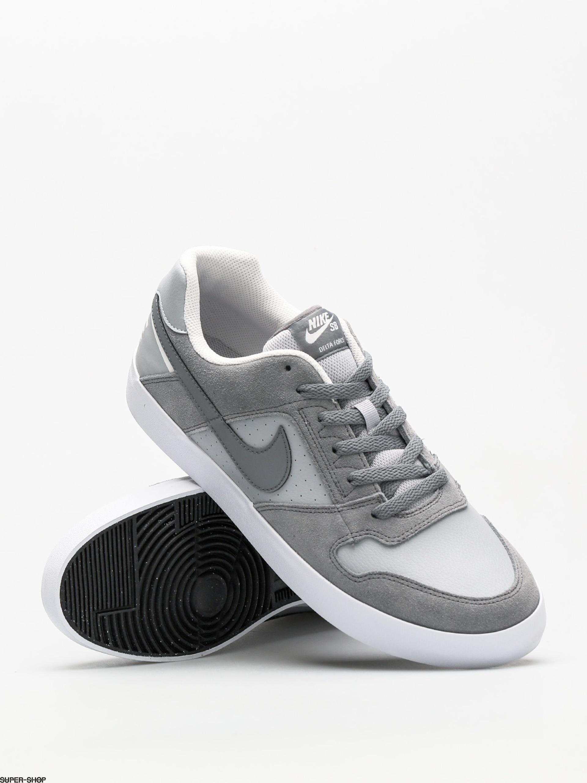 54a6d3cd2ff343 Nike SB Shoes Sb Delta Force Vulc (cool grey cool grey wolf grey white)
