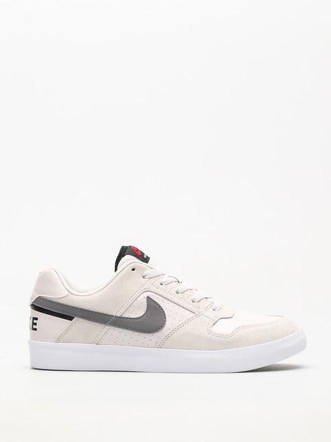 Nike SB Schuhe Sb Delta Force Vulc (vast grey/gunsmoke black red crush)