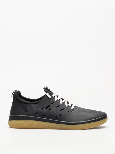 Nike SB Schuhe Nyjah Free (black/black gum light brown)