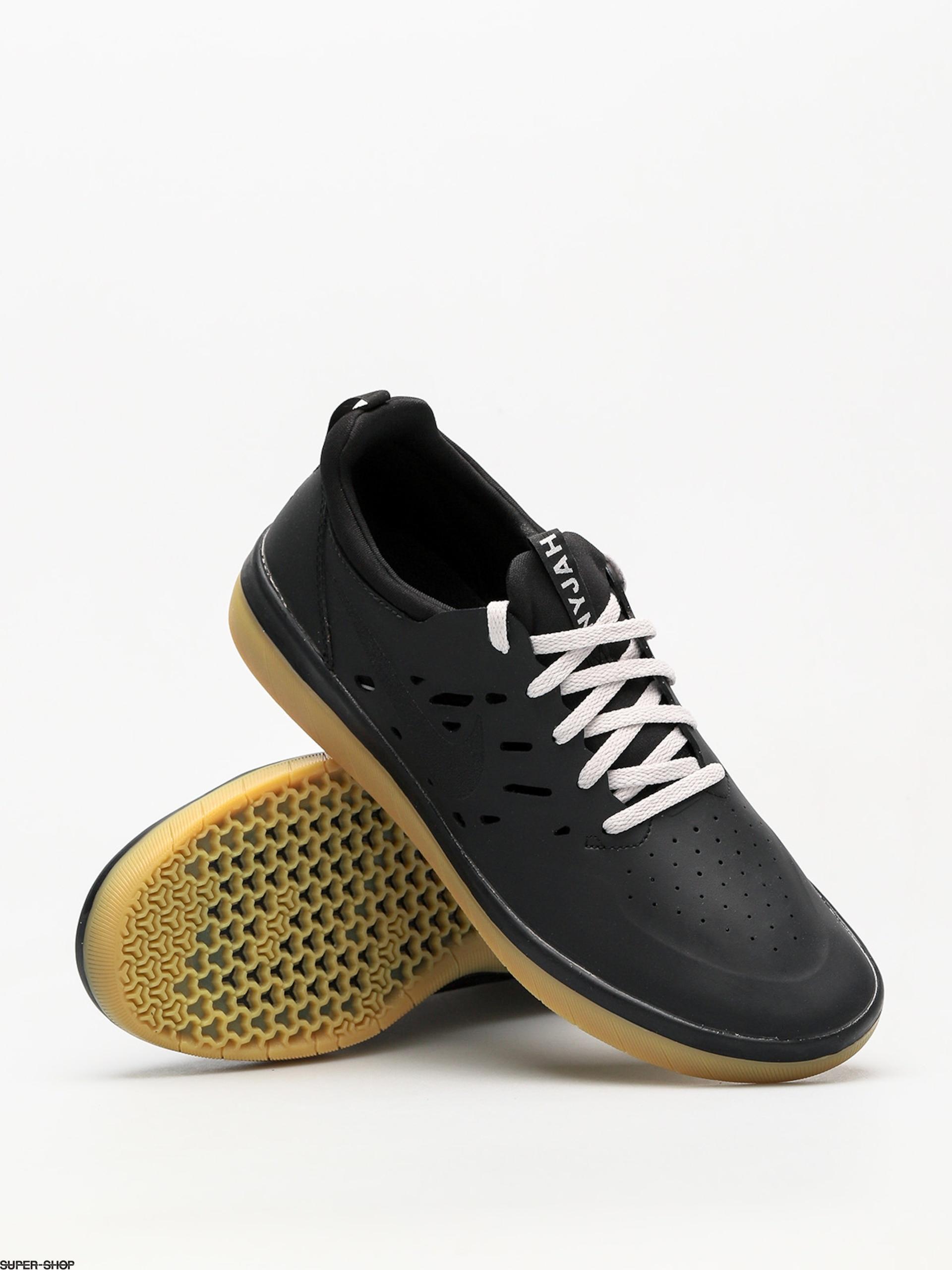 huge selection of d035b b8100 Nike SB Shoes Nyjah Free (black black gum light brown)