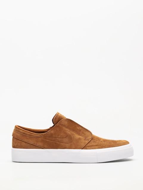 Nike SB Shoes Sb Zoom Janoski Ht Slip (lt british tan/lt british tan blue void)