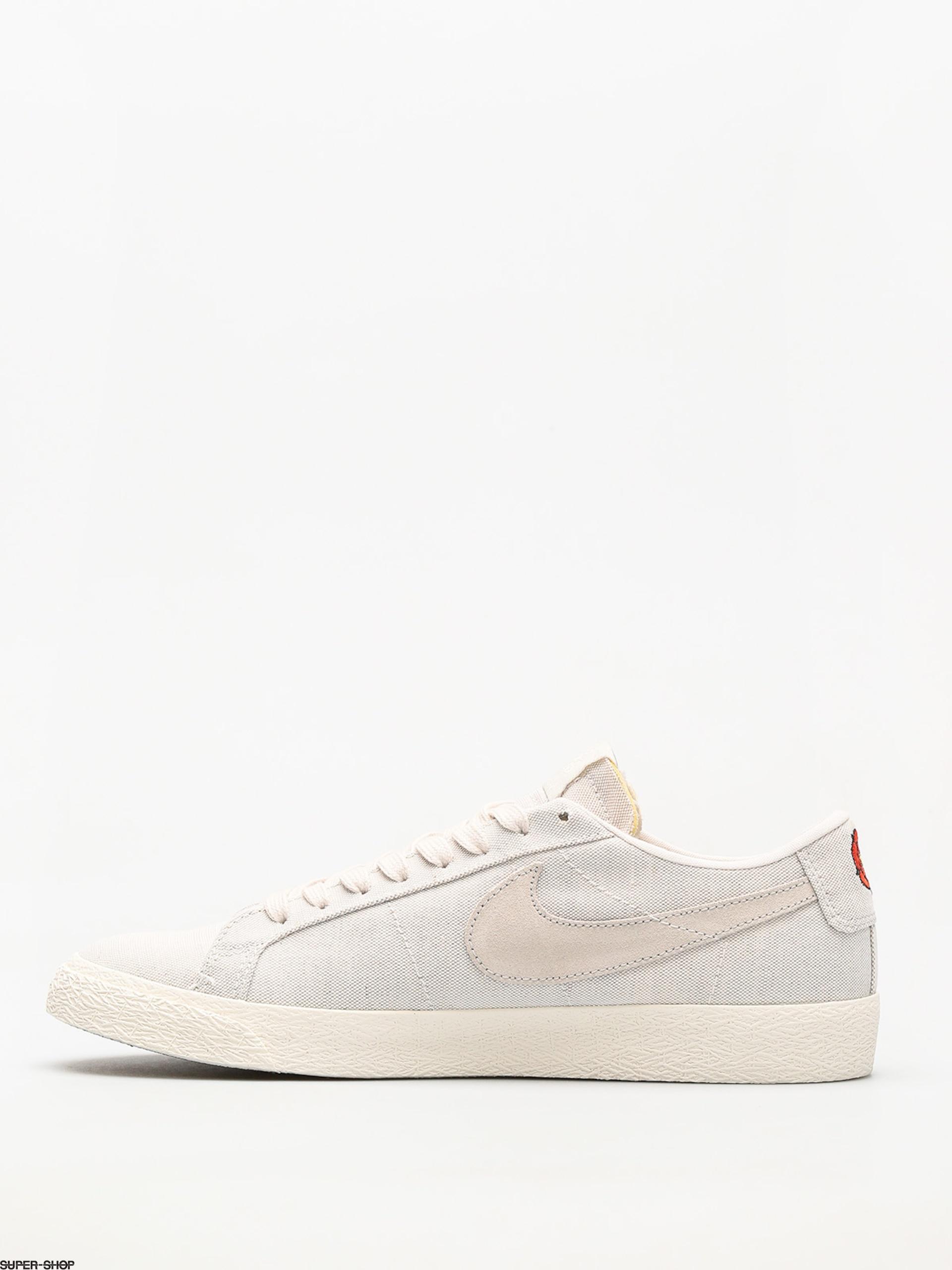2e1d1f29a2a3 Nike SB Shoes Sb Zoom Blazer Low Canvas Deconstructed (phantom light bone  habanero red)