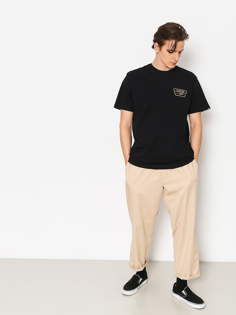 Vans T-shirt Full Patch Back (black/dirt)