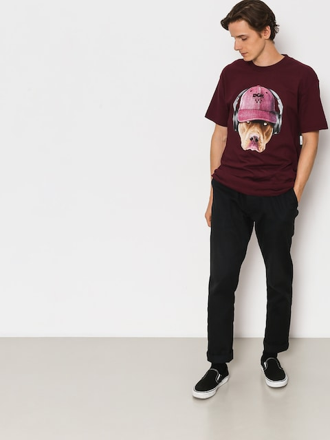 DGK T-shirt Red Nose (burgundy)