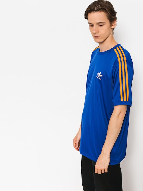 adidas T-Shirt Bluza Clima Club Jers (collegiate royal/tactile yellow f17)