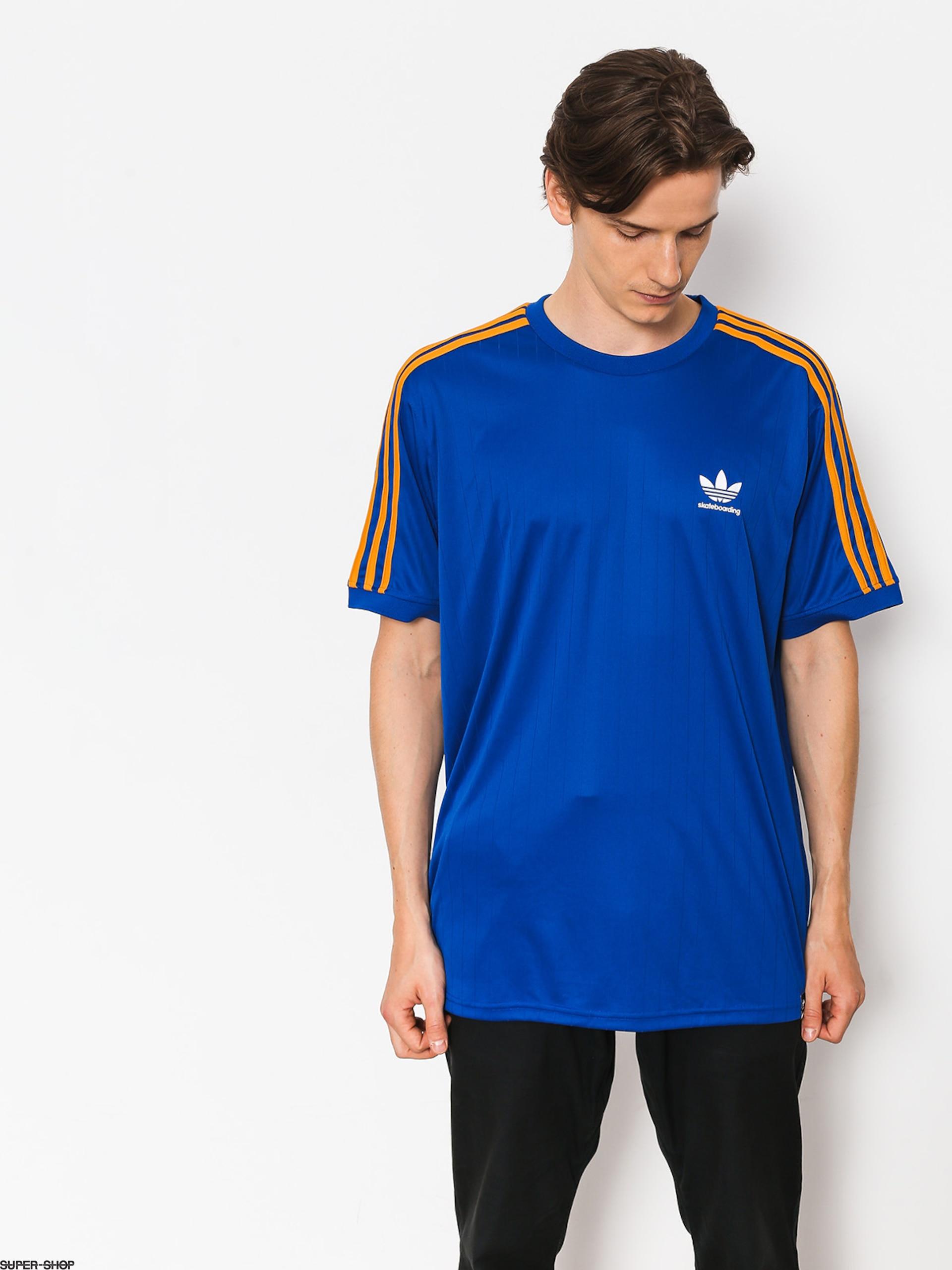 a1e0d6ce6 adidas T-shirt Bluza Clima Club Jers (collegiate royal/tactile yellow f17)
