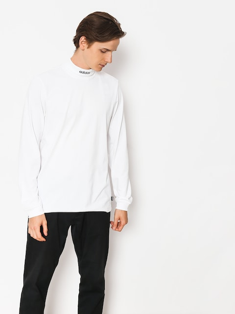 adidas Shirt Hicollartee (white/collegiate navy)