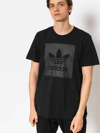 adidas T-shirt Solid Bb (black/carbon s18)