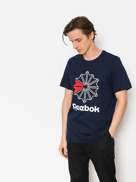 Reebok T-Shirt F Gr (collegiate navy/white/primal red)