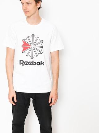Reebok T-shirt F Gr (white/black)