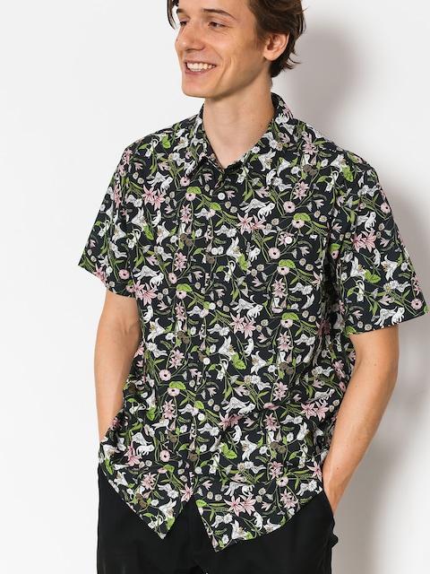 RipNDip Shirt Nerm Flower Button Up (black)
