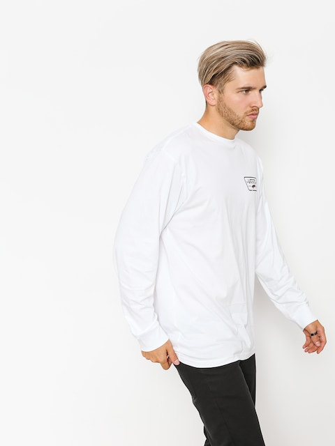 Vans Longsleeve Full Patch Back (white/port royale)