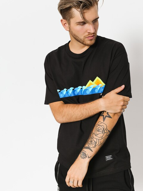 Grizzly Griptape T-shirt High Tide (black)