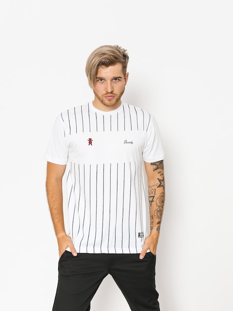 Grizzly Griptape T-shirt Midfielder (white)