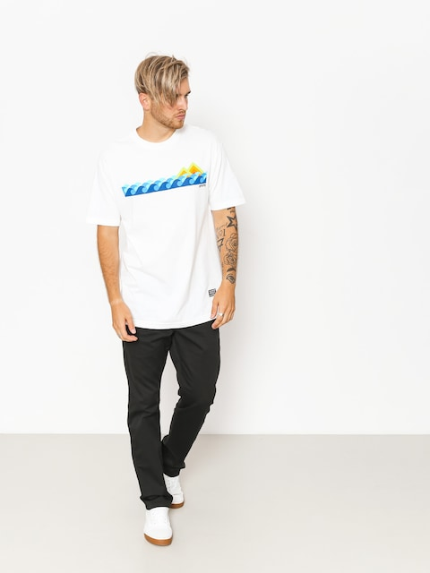 Grizzly Griptape T-shirt High Tide (white)