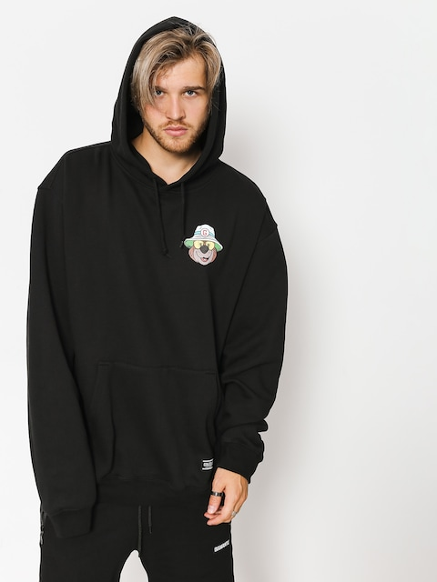 Grizzly Griptape Hoodie Bear & Loathing HD (black)