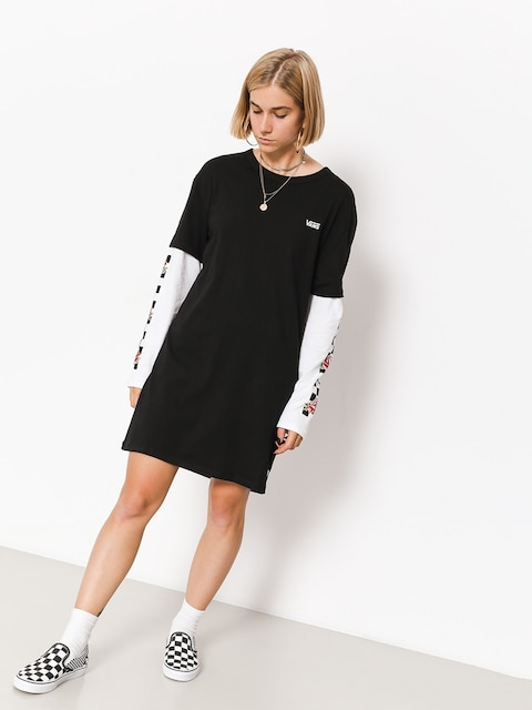 Vans Dress Break Time Twofer Dress Wmn (black)