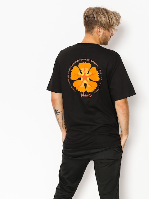 Grizzly Griptape T-shirt Coastal Clique (black)