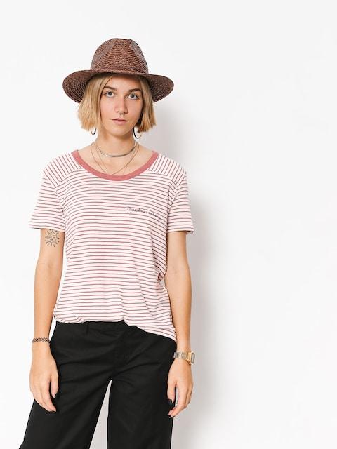 Roxy T-shirt Myfavorite thina Wmn (whitered rose thin s)