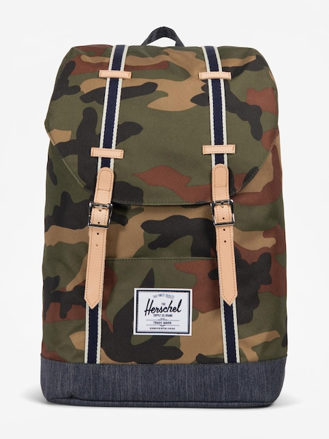 Herschel Supply Co. Rucksack Retreat (woodland camo/dark denim)