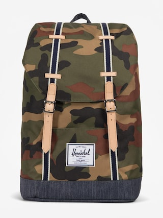 Herschel Supply Co. Backpack Retreat (woodland camo/dark denim)
