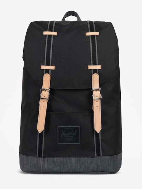 Herschel Supply Co. Backpack Retreat (black/black denim)