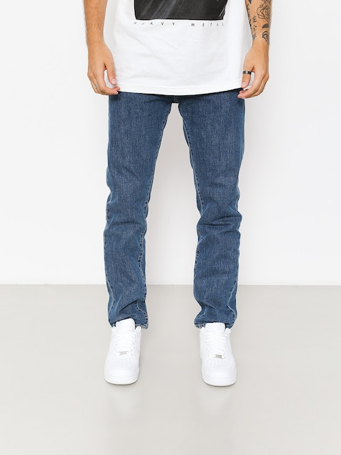 Carhartt WIP Pants Klondike (blue denim 12 oz/blue dark stone washed)