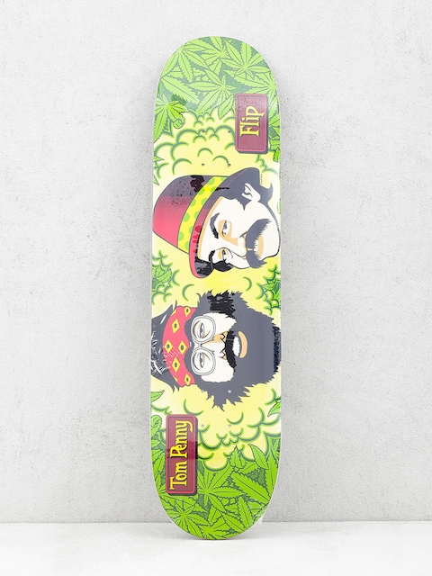 Flip Deck Cheech And Chong (green/yellow)