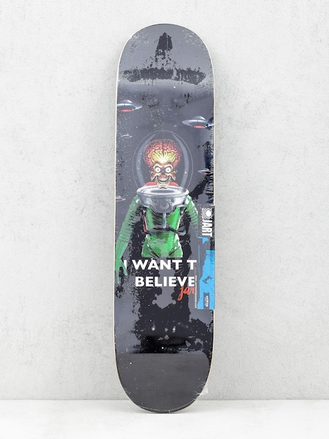 Jart Deck I Want To Believe (black)