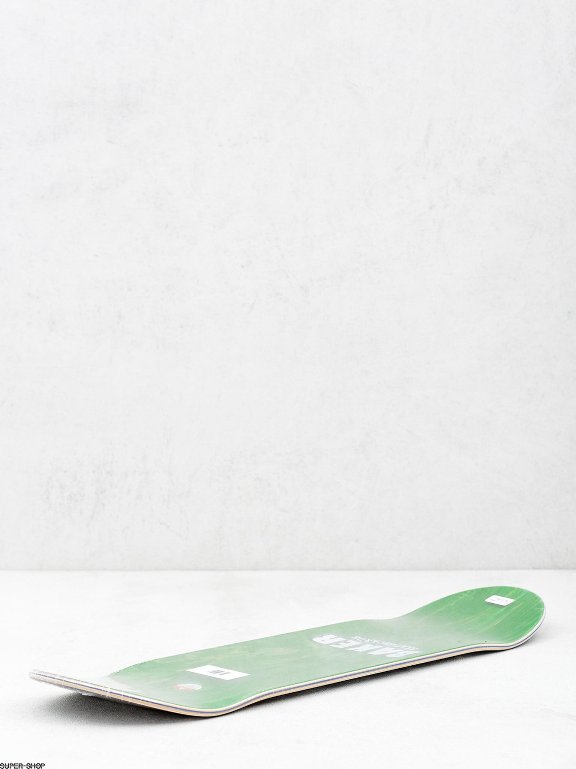 Baker Deck Brand Logo Black White Skateboard Red Foil
