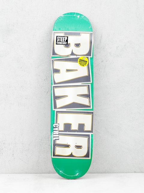 Baker Deck Brand Name (glitter green)