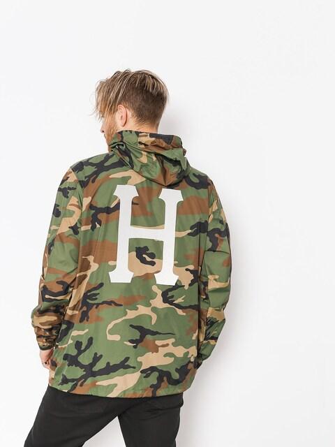 HUF Jacket Fourth Anorak (woodland camo)
