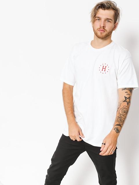 HUF T-shirt Classic Lips (white)