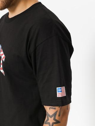 HUF T-shirt Fuck It Flag (black)