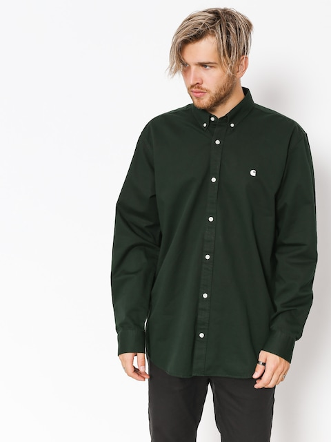 Carhartt WIP Shirt Madison Ls (loden/wax)