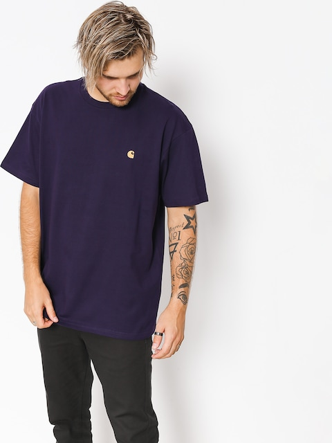 Carhartt WIP T-shirt Chase (lakers/gold)
