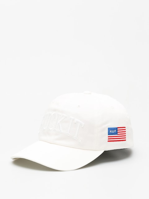 HUF Cap Fuck It Big Cv 6 Panel (white)