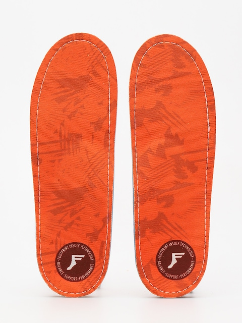 Footprint Insoles Orthotic Insole (orange camo)