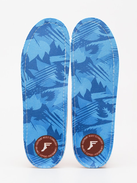 Footprint Insoles Orthotic Low (blue camo)