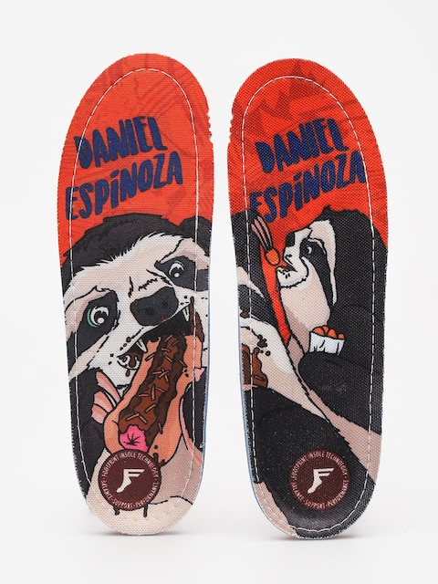 Footprint Insoles Daniel Espinoza (orange)