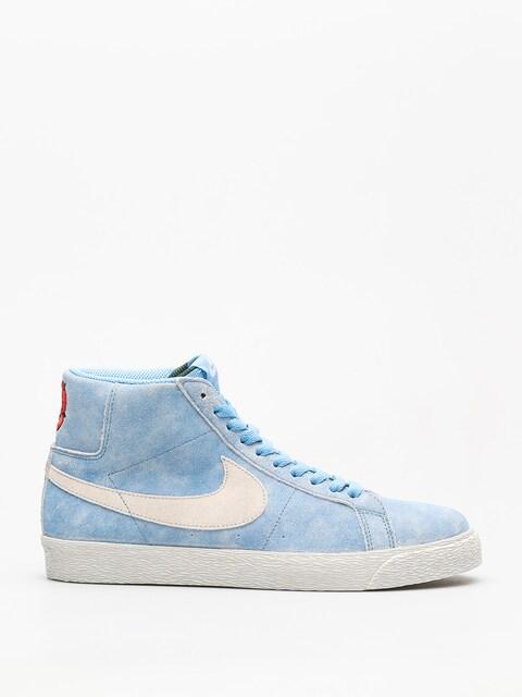 Nike SB Shoes Sb Zoom Blazer Mid (university blue/light bone habanero red)