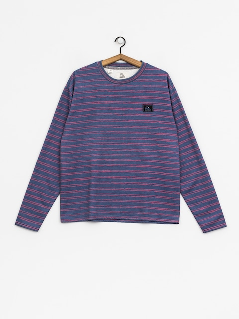 Quiksilver Sweatshirt Early Faze (bijou blue origi stripe)