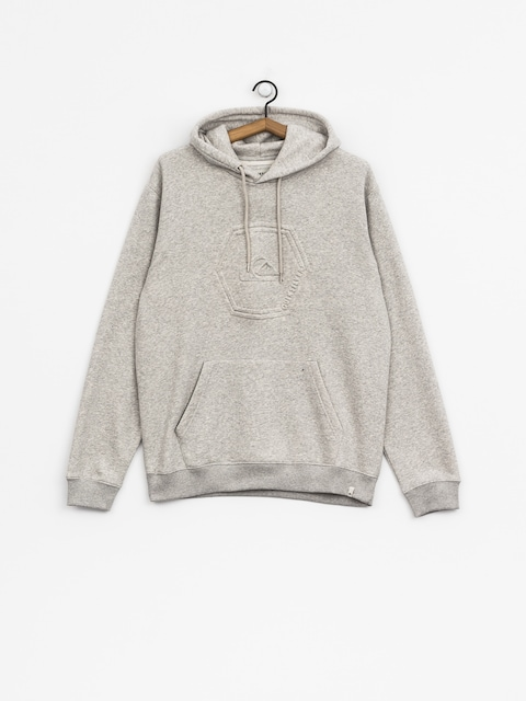 Quiksilver Hoodie Swell Emboss HD (light grey heather)