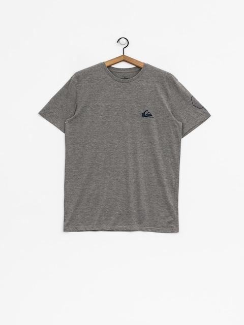 Quiksilver T-shirt Solid Left (medium grey heather)